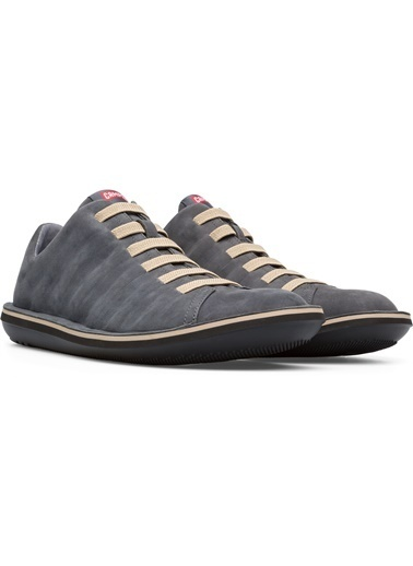 Camper Hakiki Deri Ayakkabı Füme